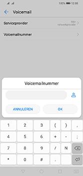 Huawei Y7 (2019) - Voicemail - handmatig instellen - Stap 9