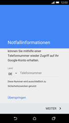 HTC One M9 - Apps - Konto anlegen und einrichten - Schritt 8