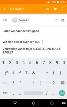 Alcatel Pixi 3 (8) - E-mail - E-mail versturen - Stap 10