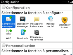 BlackBerry 9360 Curve - E-mail - Configuration manuelle - Étape 4