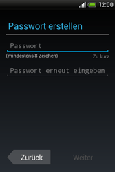 HTC A320e Desire C - Apps - Konto anlegen und einrichten - Schritt 8