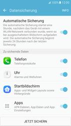 Samsung Galaxy S7 - Datenschutz und Sicherheit - Samsung synchronisieren - 1 / 1