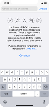 Apple iPhone X - iOS 13 - Internet e roaming dati - Uso di Internet - Fase 4