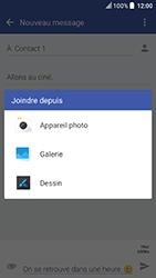 HTC U Play - Contact, Appels, SMS/MMS - Envoyer un MMS - Étape 16