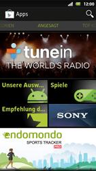 Sony Xperia Sola - Apps - Herunterladen - Schritt 4