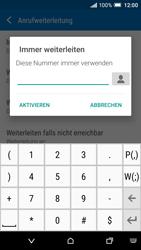 HTC One A9 - Anrufe - Rufumleitungen setzen und löschen - Schritt 7