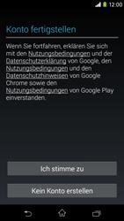 Sony Xperia M2 - Apps - Konto anlegen und einrichten - 15 / 23