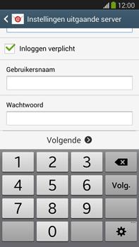 Samsung N9005 Galaxy Note III LTE - E-mail - Account instellen (POP3 met SMTP-verificatie) - Stap 14