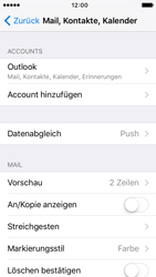 Apple iPhone SE - E-Mail - 032c. Email wizard - Outlook - Schritt 9