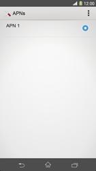 Sony Xperia Z1 - MMS - Manuelle Konfiguration - Schritt 7