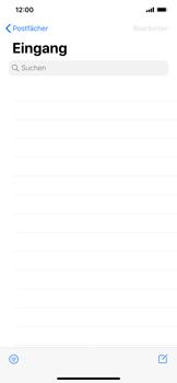 Apple iPhone XS Max - iOS 13 - E-Mail - E-Mail versenden - Schritt 3