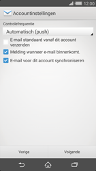 Sony Xperia Z2 4G (D6503) - E-mail - Handmatig instellen - Stap 17