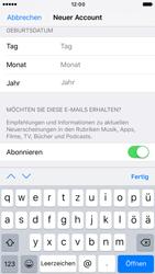 Apple iPhone 7 - Apps - Konto anlegen und einrichten - Schritt 15