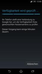 Sony D6603 Xperia Z3 - Apps - Konto anlegen und einrichten - Schritt 10