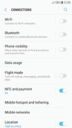 Samsung A320F Galaxy A3 (2017) - Android Nougat - Network - Change networkmode - Step 6