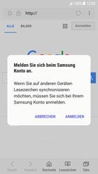 Samsung Galaxy S7 - Android N - Internet und Datenroaming - Verwenden des Internets - Schritt 9
