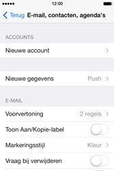 Apple iPhone 4 iOS 7 - E-mail - Account instellen (POP3 met SMTP-verificatie) - Stap 4