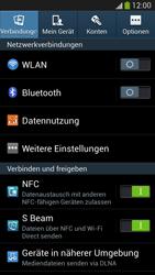 Samsung Galaxy S 4 LTE - Internet und Datenroaming - Prüfen, ob Datenkonnektivität aktiviert ist - Schritt 4