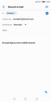 Huawei P Smart - E-mails - Envoyer un e-mail - Étape 8