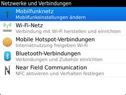 BlackBerry Bold Touch - Ausland - Auslandskosten vermeiden - 0 / 0