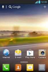LG E610 Optimus L5 - WiFi - Handmatig instellen - Stap 1