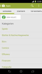 Sony Xperia Z1 Compact - Apps - Herunterladen - 6 / 20