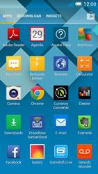 Alcatel OT-5036X Pop C5 - internet - hoe te internetten - stap 2