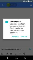 Sony Xperia XA (F3111) - Android Nougat - MMS - Afbeeldingen verzenden - Stap 10