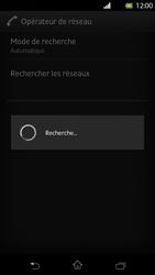 Sony Xperia T - Réseau - Sélection manuelle du réseau - Étape 7