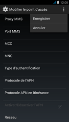 Wiko jimmy - Internet et roaming de données - Configuration manuelle - Étape 16