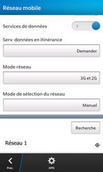 BlackBerry Z10 - Réseau - Sélection manuelle du réseau - Étape 11