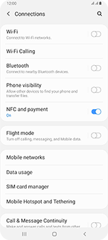 Samsung Galaxy A80 - Internet and data roaming - Disabling data roaming - Step 5