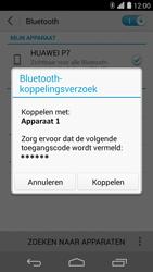 Huawei Ascend P7 - Bluetooth - headset, carkit verbinding - Stap 7