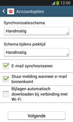 Samsung Galaxy S3 Mini VE (I8200N) - E-mail - Account instellen (IMAP zonder SMTP-verificatie) - Stap 18
