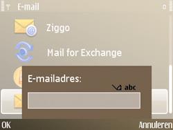 Nokia E72 - e-mail - handmatig instellen - stap 8