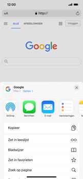 Apple iPhone 11 - iOS 14 - internet - hoe te internetten - stap 5