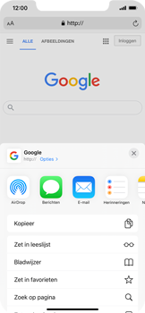 Apple iPhone 12 Pro Max - internet - hoe te internetten - stap 5