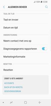 Samsung Galaxy S9 - Toestel reset - terugzetten naar fabrieksinstellingen - Stap 5