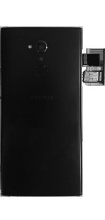 Sony Xperia XA2 Ultra - SIM-Karte - Einlegen - 5 / 8