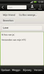 HTC T320e One V - E-mail - E-mails verzenden - Stap 9
