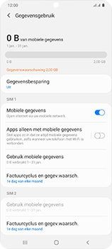 Samsung Galaxy S20 Ultra 5G Dual SIM eSIM SM-G988B - Internet - Uitzetten - Stap 6