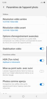 Samsung Galaxy Note 10 - Photos, vidéos, musique - Créer une vidéo - Étape 6