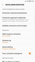 Samsung Galaxy S7 Edge - Android N - Contacten en data - Contacten kopiëren van toestel naar SIM - Stap 6