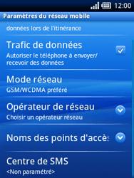 Sony Xperia X10 Mini Pro - SMS - Configuration manuelle - Étape 6