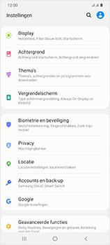Samsung Galaxy S20 Ultra 5G Dual SIM eSIM SM-G988B - Beveiliging en ouderlijk toezicht - Hoe wijzig ik mijn SIM PIN-code - Stap 4