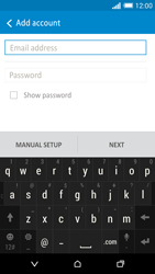 HTC One M8s - Email - Manual configuration IMAP without SMTP verification - Step 6