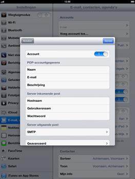 Apple iPad 4th generation - E-mail - handmatig instellen - Stap 16