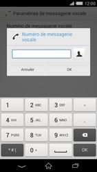 Sony Xperia Z2 (D6503) - Messagerie vocale - Configuration manuelle - Étape 8