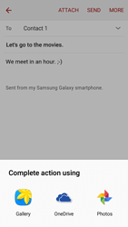 Samsung J320 Galaxy J3 (2016) - E-mail - Sending emails - Step 12