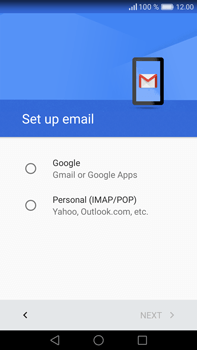 Huawei Mate 8 - Email - 032a. Email wizard - Gmail - Step 7